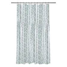 Silver And Blue Curtains Silver Shower Curtains Shower Accessories The Home Depot
