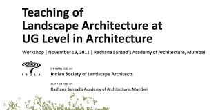 past events indian society of landscape architects