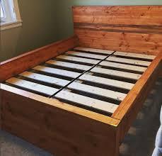bed frames u2014 wooden peaks