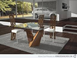 Contemporary Glass Dining Room Furniture DRK Architects - Contemporary glass dining room furniture