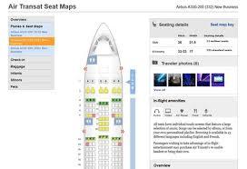 selection siege air transat quel espace vous réserve votre siège dans l avion voyagevoyage