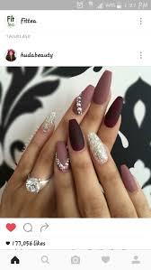 best 25 plum nails ideas on pinterest winter nails winter nail