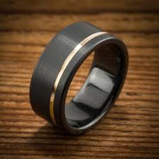 black zircon rings images Black zirconium wedding bands wedding rings men 39 s rings by jpg