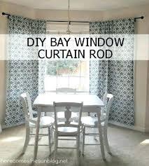 kitchen bay window treatment ideas kitchen bay window curtains thamtubaoan