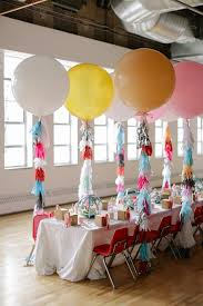 birthday balloons in a box second birthday party ideas geronimo balloons pink ombre cake