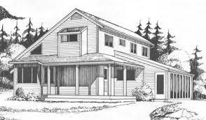 solar saltbox farmhouse plans