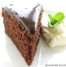 exclusively food chocolate cake recipe
