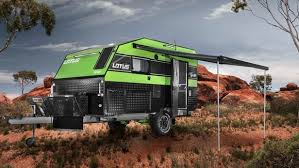Caravan Pull Out Awnings Off Grid Caravan Battles The Bush To Let You Sleep In Luxury U0027s Lap