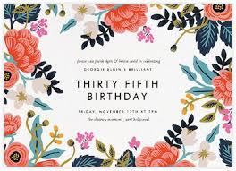 birthday invitation cards best 25 birthday invitations ideas on