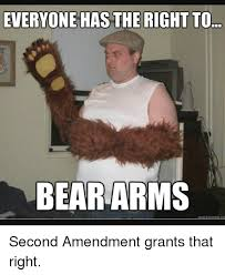 Right To Bear Arms Meme - everyone has the right to bear arms uickmerme co second amendment