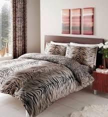 Zebra Print Bedroom Sets King Size Animal Print Comforter Set Foter