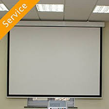 projection screens amazon com projector screen installation first time motorized drop