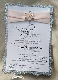 baby shower invitations pink and silver
