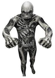 Skeleton Halloween Costume Women by Skull U0026 Bones Skeleton Morphsuit