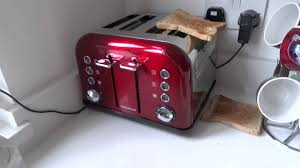 Morphy Richards Toasters And Kettles Morphy Richards Accents 4 Slice Toaster With Built In Super Eject