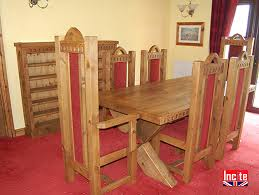 Gothic Dining Room Furniture Bespoke Made Pine Gothic Style Chair By Incite Draycott