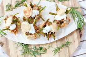 Easy Dinner Party Main Dishes - healthy spring ratatouille tarts food done light