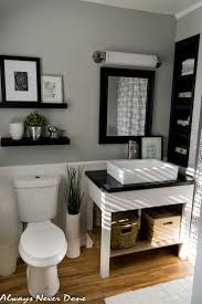 small bathroom accessories master bathroom renovation the diy and thrifty way beach dreams