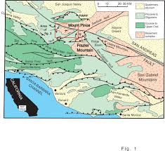 Fault Line Map United States Fault Lines Maps The Main Production Areas And The
