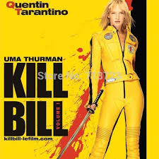 bruce yellow jumpsuit high quality kill bill costume bruce martial arts