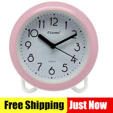 Clock For Bathroom Compare Prices On Wall Clock Pink Online Shopping Buy Low Price