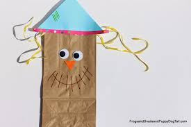 scarecrow writing paper all things kids scarecrow paper bag craft for kids scarecrow paper bag craft for kids