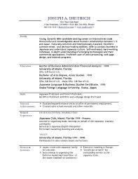 resume sample template download free resume template word sample