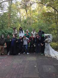 halloween party and haunted nature center nova parks