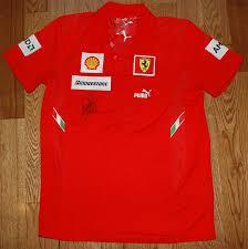 ferrari clothing f1 clothes autographs u0026 f1 memorabilia