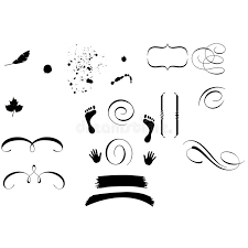 decorative ornament shapes stock vector image of accent 1700761