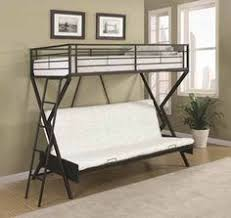 Twin Over Futon Bunk Bed Eclipse Twin Over Full Futon Bunk Bed Multiple Colors 180 At
