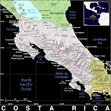 Map Costa Rica Cr Costa Rica Public Domain Maps By Pat The Free Open Source