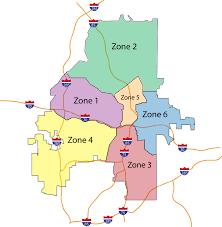 Atlanta Area Map File Atlanta Police Zones Feb 2013 Jpg Wikimedia Commons