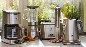 collection of small kitchen appliances electrolux