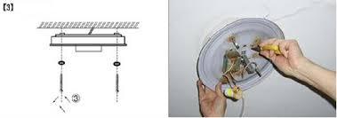 Install A Flush Mount Ceiling Fixture Www Lightneasy Net