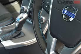 volvo steering wheel 2015 volvo s60 u0026 v60 polestar review australian launch