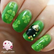 irish nail art acrylic paint u2013 great photo blog about manicure 2017