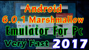 pc android emulator best android emulator 6 0 1 for pc new version 2017