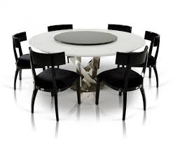 round table with lazy susan built in large modern dining table pleasing design round rooms tables wood