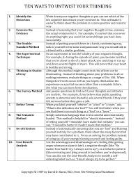 thinking errors worksheet pdf the best and most comprehensive