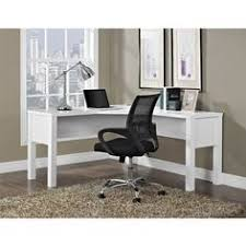 Overstock Home Office Desk Princeton White L Desk Overstock Shopping Great Deals On