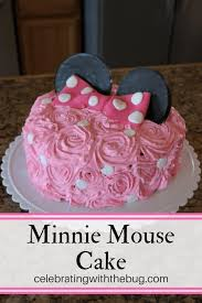 minnie mouse cake make your own minnie mouse cake celebrating with the bug