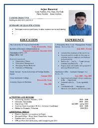free professional resume format format resume starua xyz