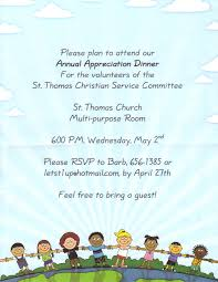 free easter speeches st christian service committee annual appreciation dinner