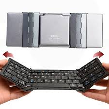 bluetooth keyboard for android new arrival travel metal folding bluetooth 3 0 keyboard portable