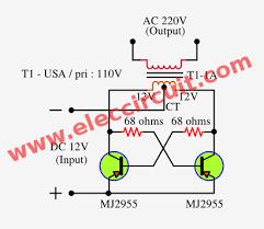 wiring diagram simple inverter circuit diagram 12v to 220v dc ac