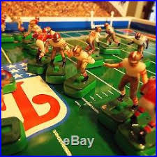 electronic table football game nfl tudor electronic tabletop football 49er s and patriots model 615