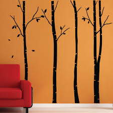 Birch Tree Decor Birch Tree Wall Stickers Wall Graphics Wall Art Wall