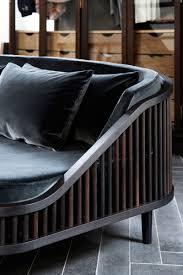 dedar sofa in fumed oak brass and velvet kbhsnedkeri photo