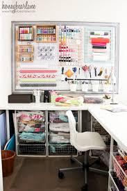 Small Craft Desk Craft Room Reveal Honeybear